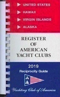 REGISTER OF AMERICAN YACHT CLUBS